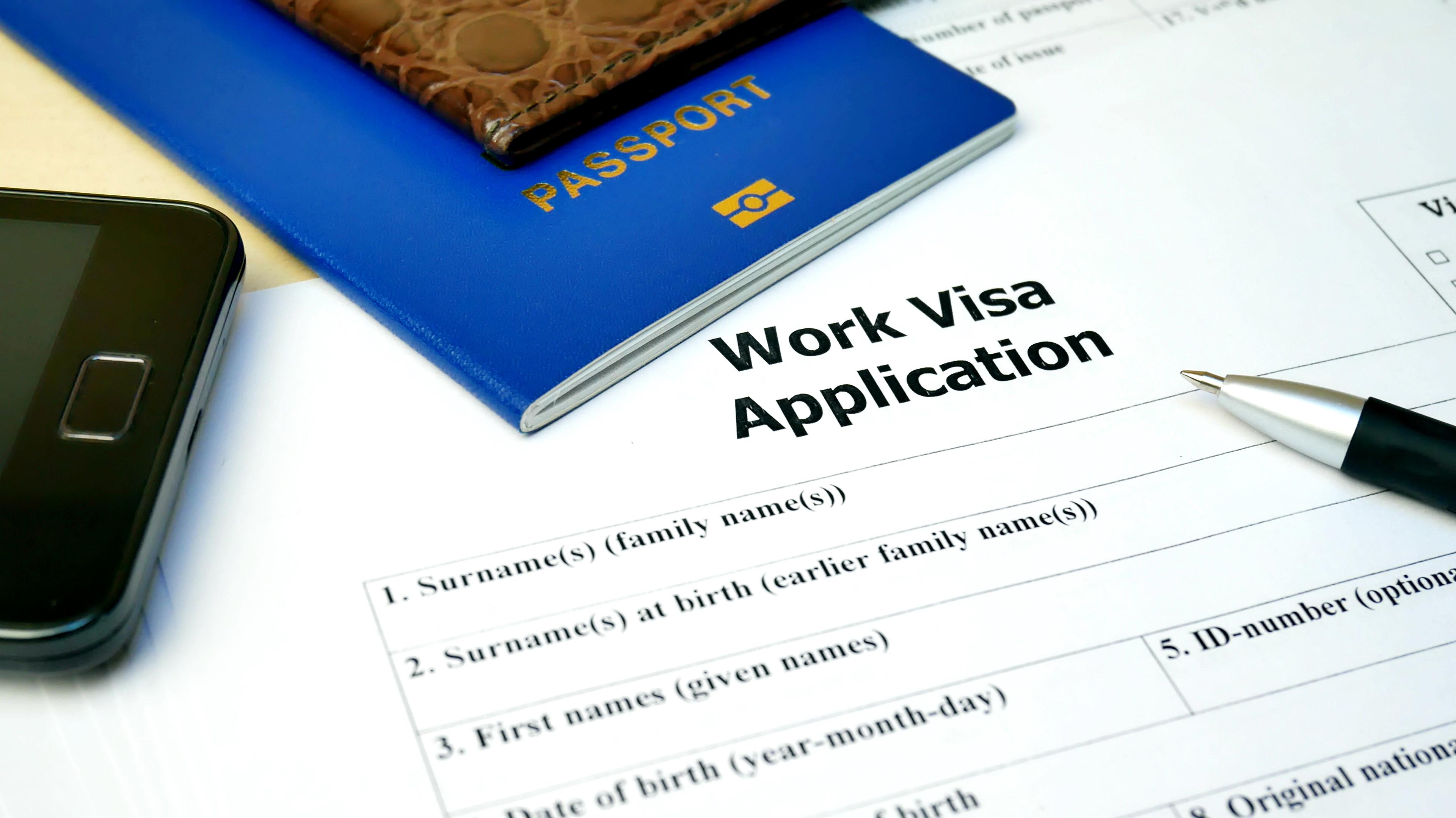 Получение рабочей визы в 2021 году