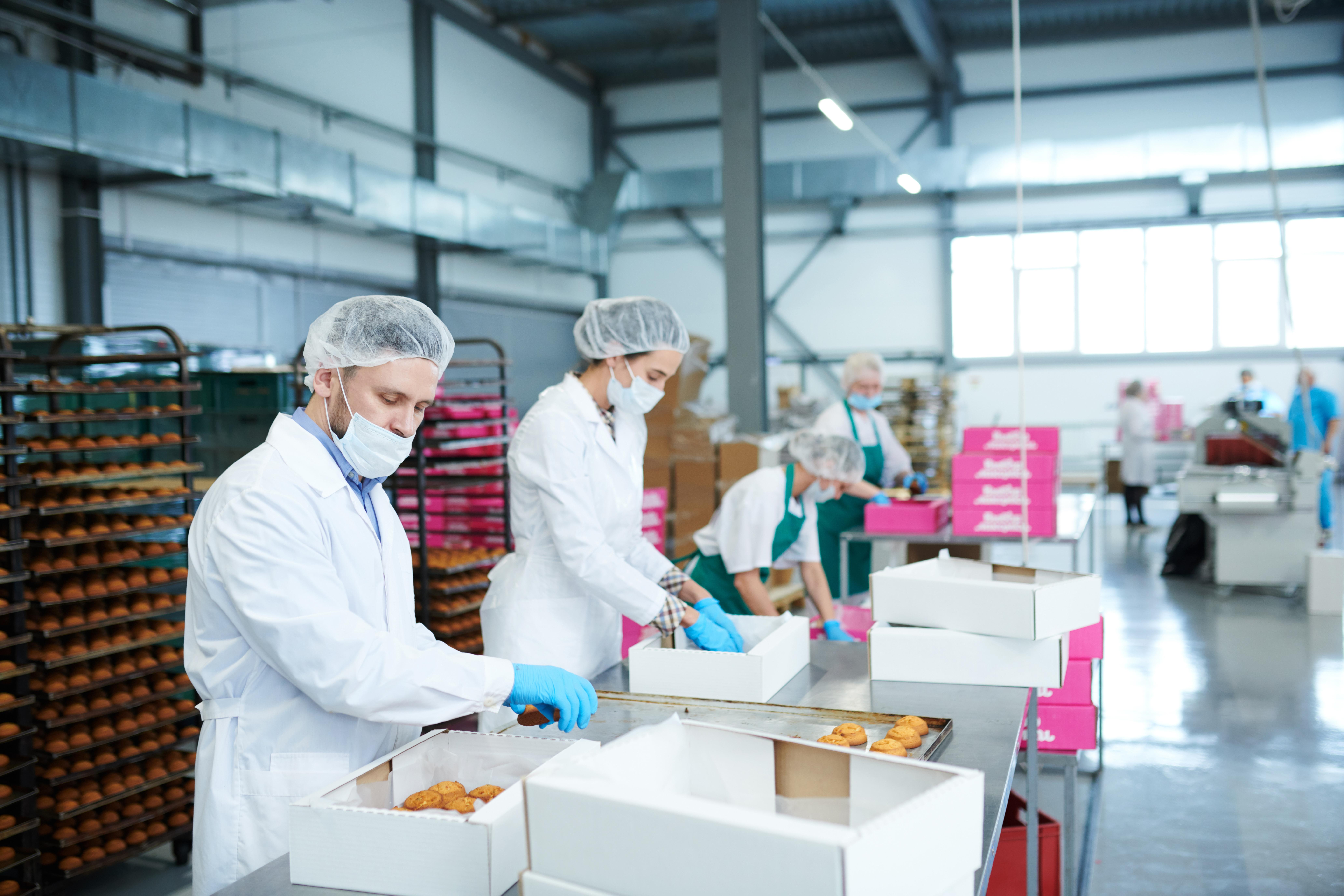 Работа на кондитерской фабрике в Польше