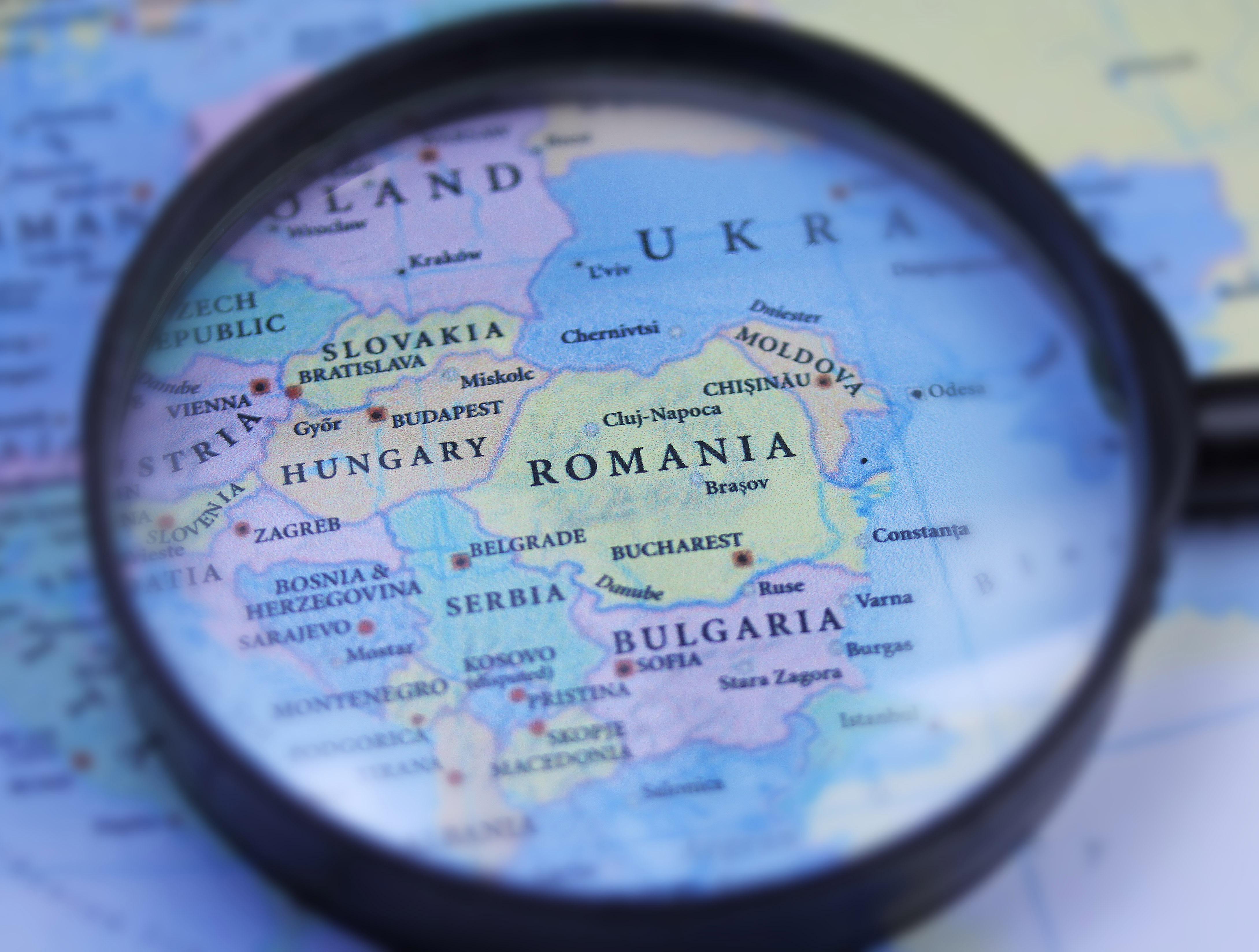 Карта Румынии, куда иностранцы могут переехать благодаря репатриации