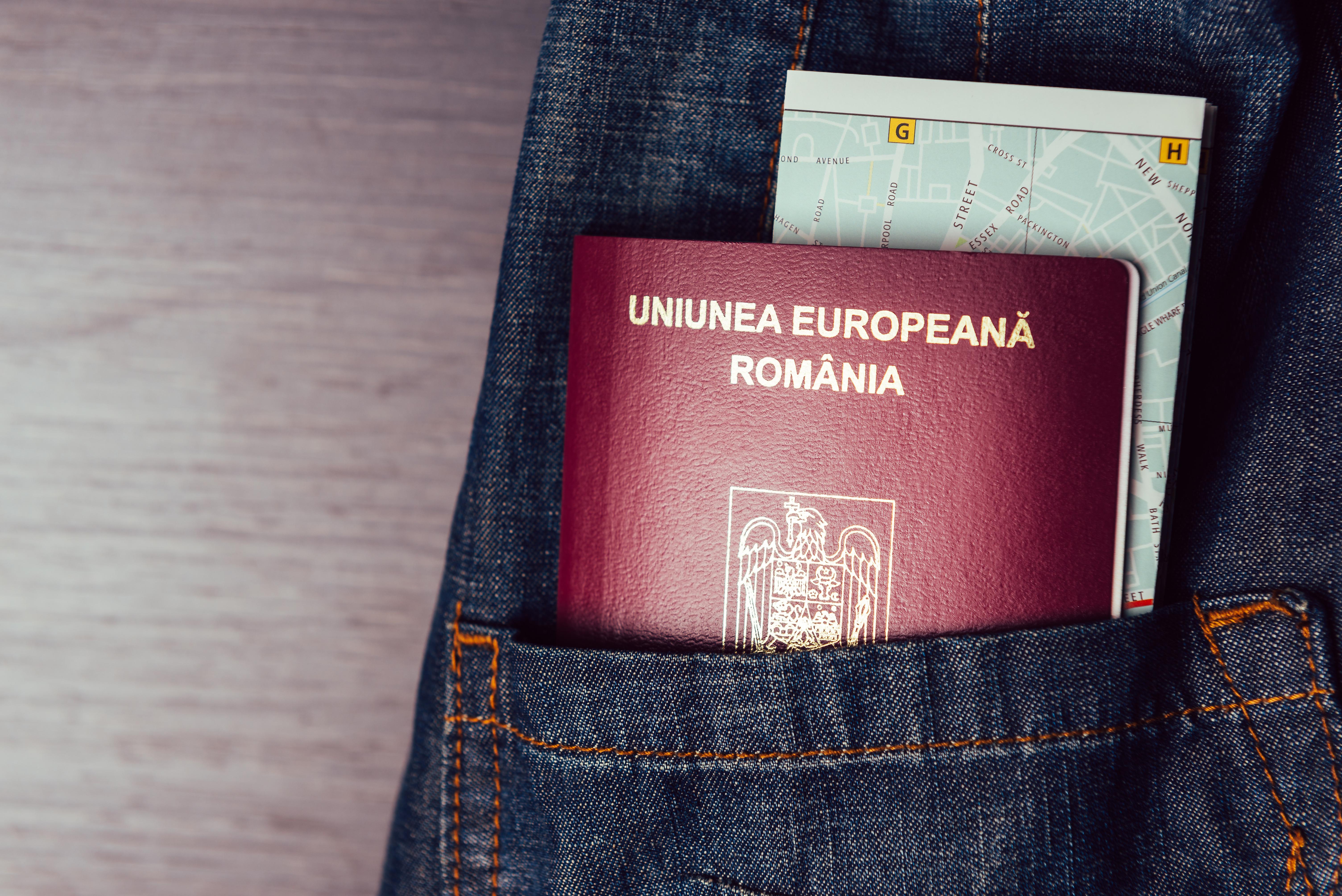 Паспорт Румынии, гражданство которой могут получить россияне
