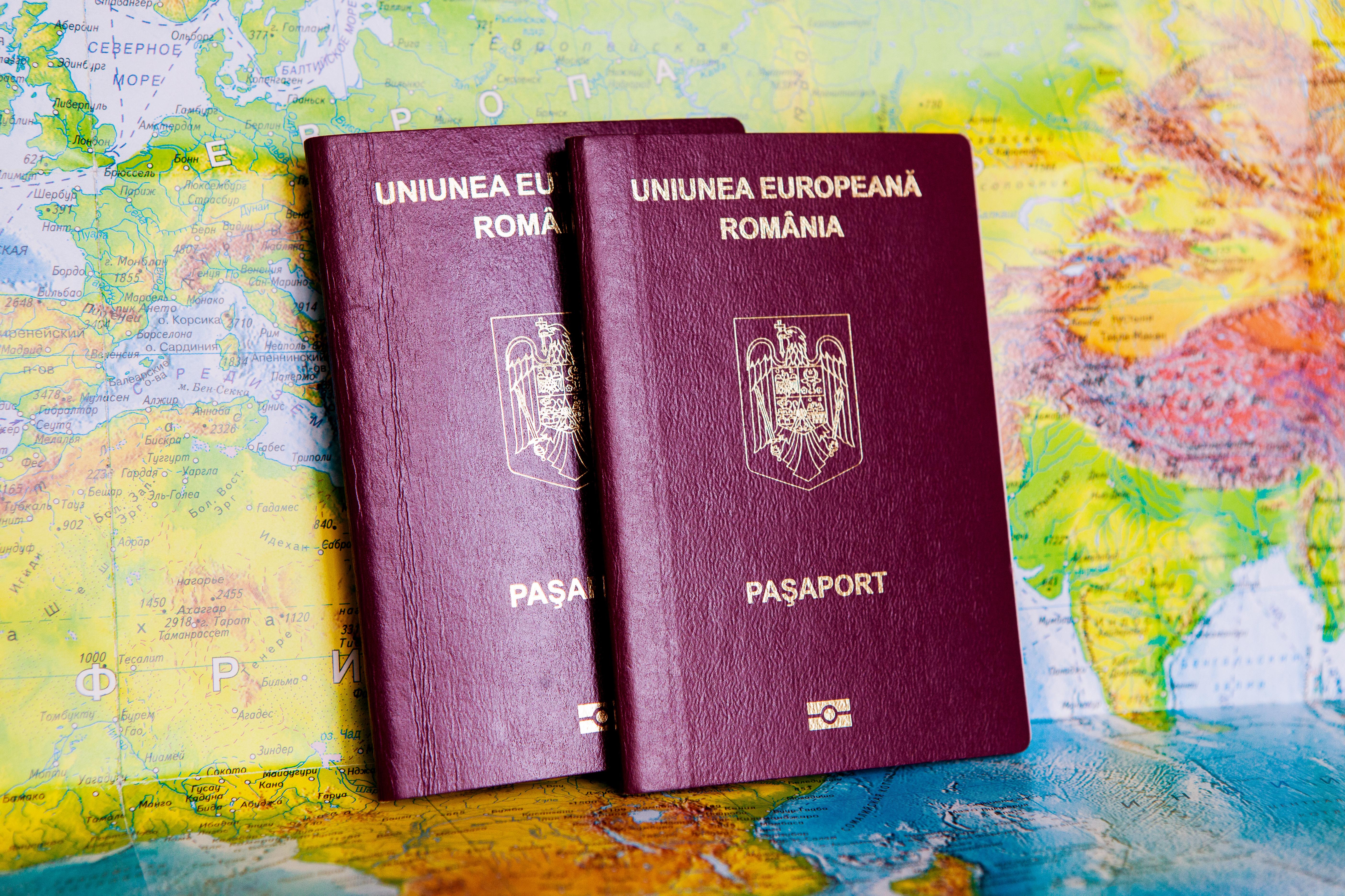 Паспорта Румынии, гражданство которой могут получить россияне