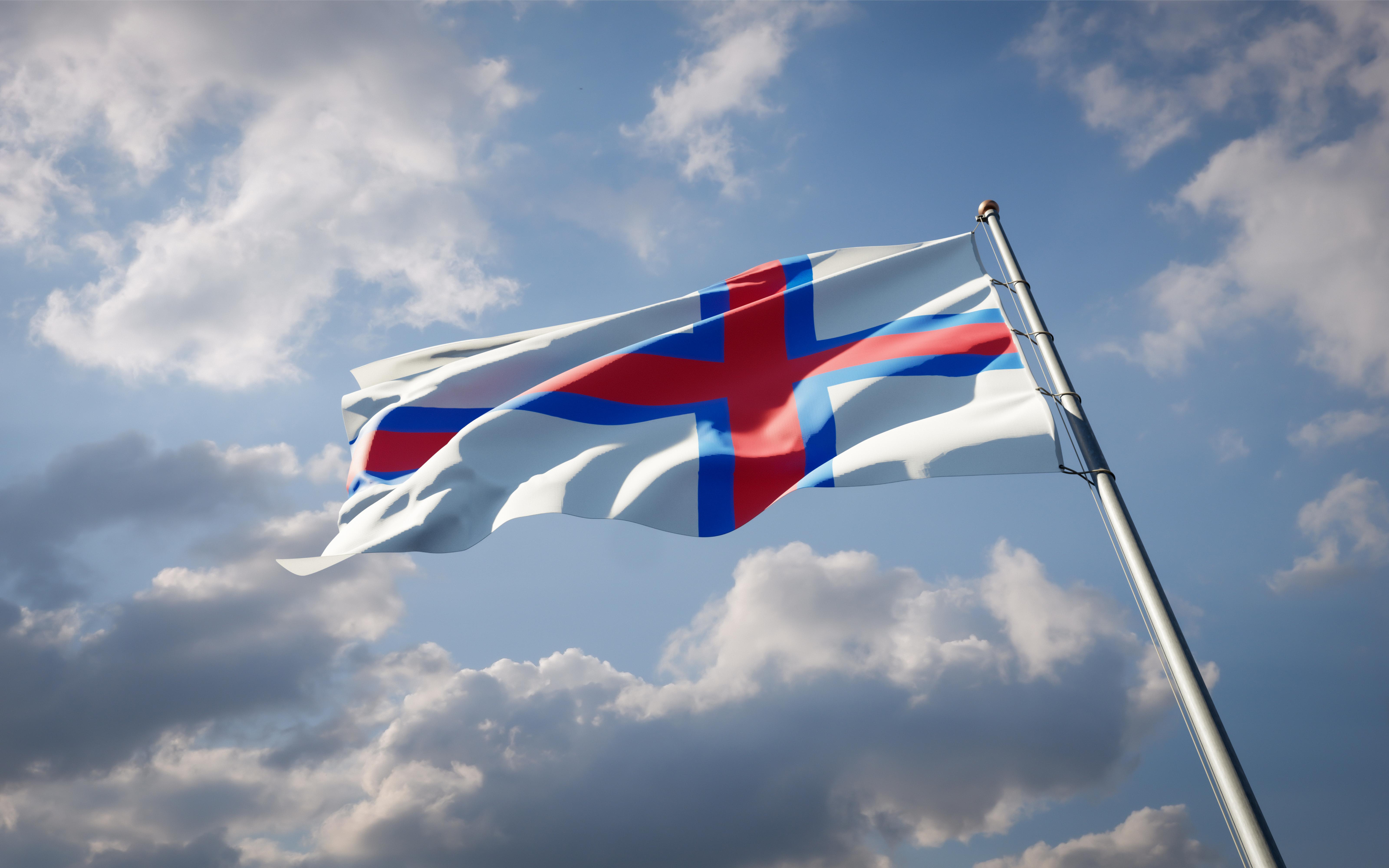 Флаг Фарерских островов, где есть возможность обучаться для русских