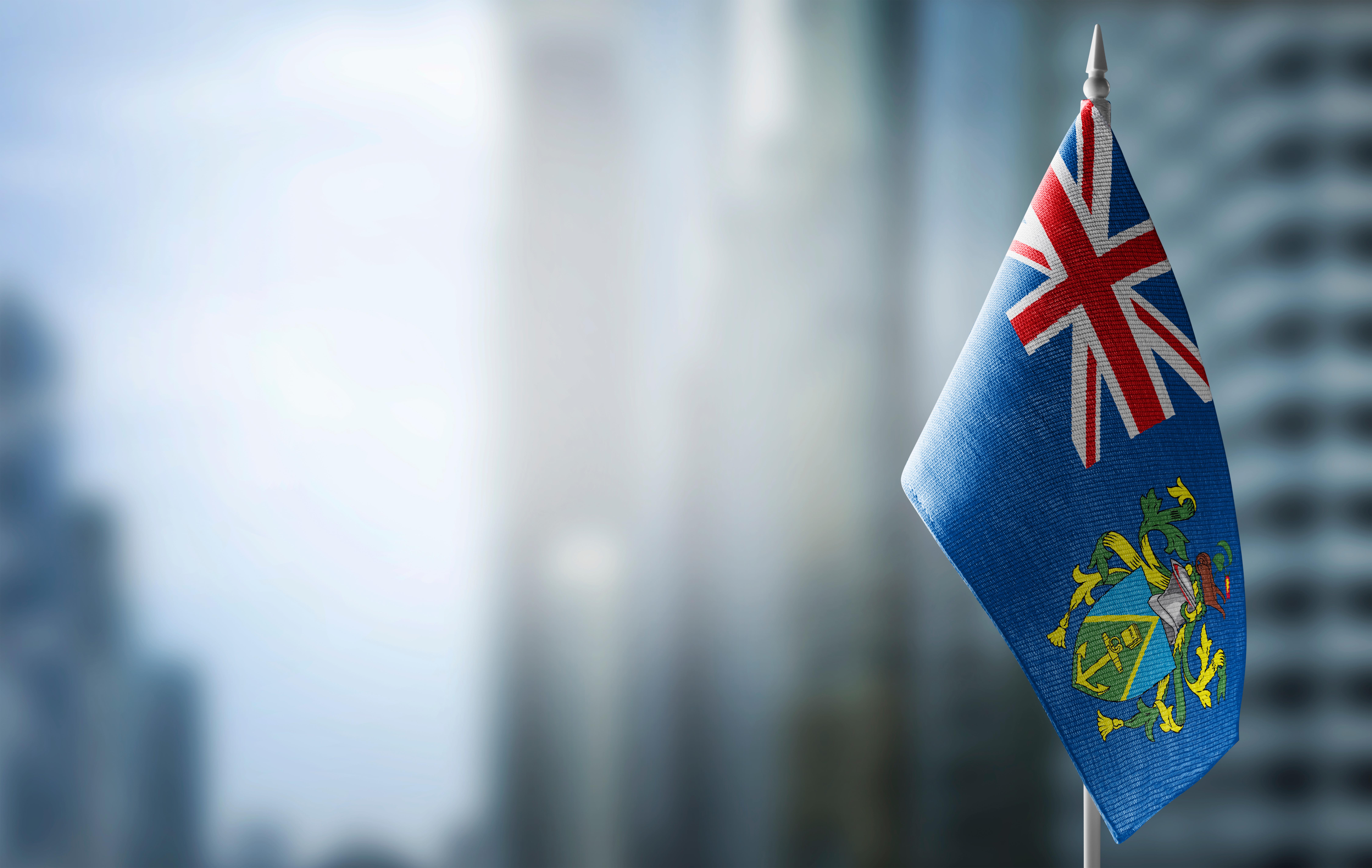 Флаг острова Питкэрн, где могут обучаться россияне