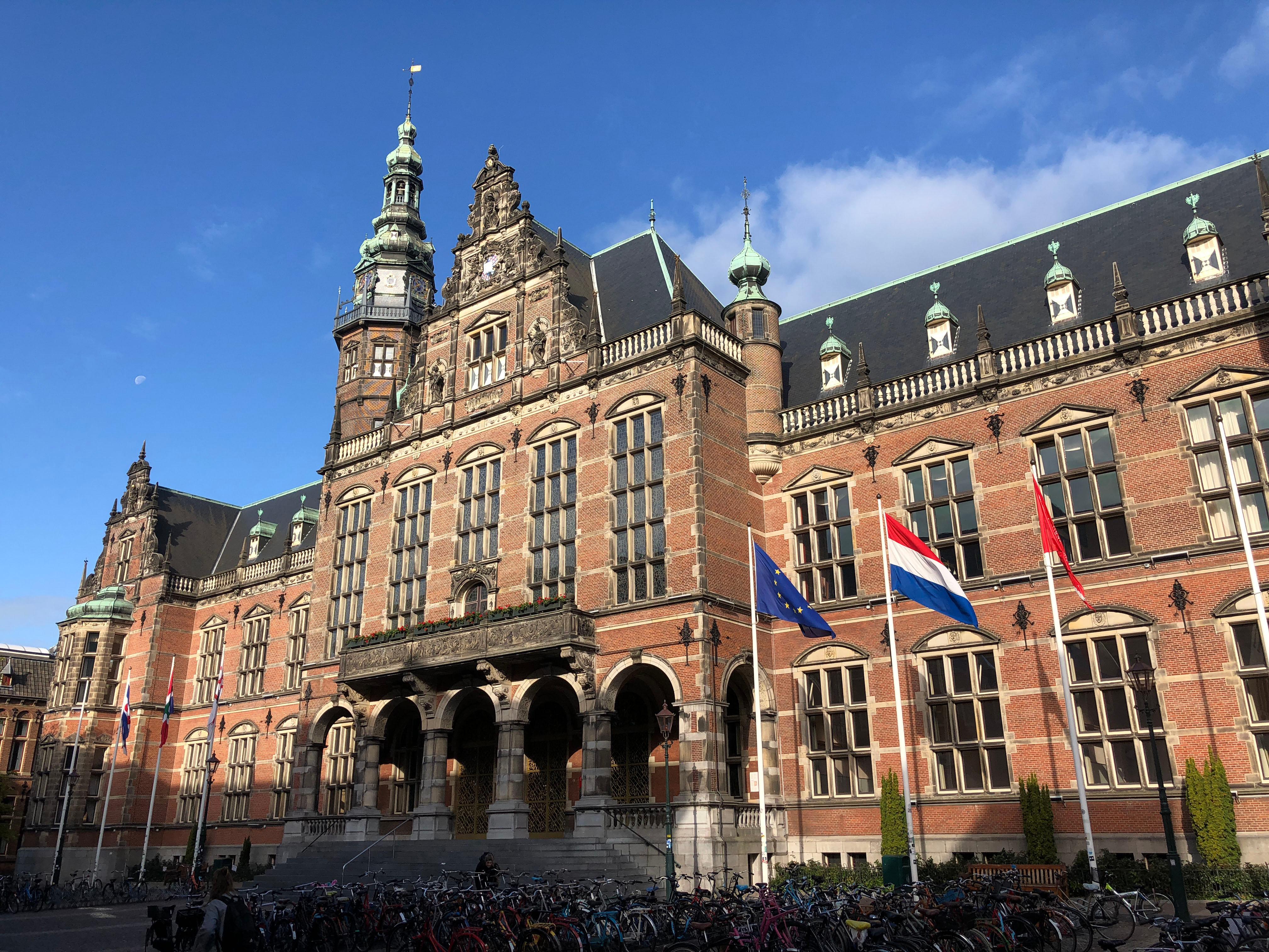Университет Гронингена в Нидерландах, где есть возможность обучаться для иностранцев
