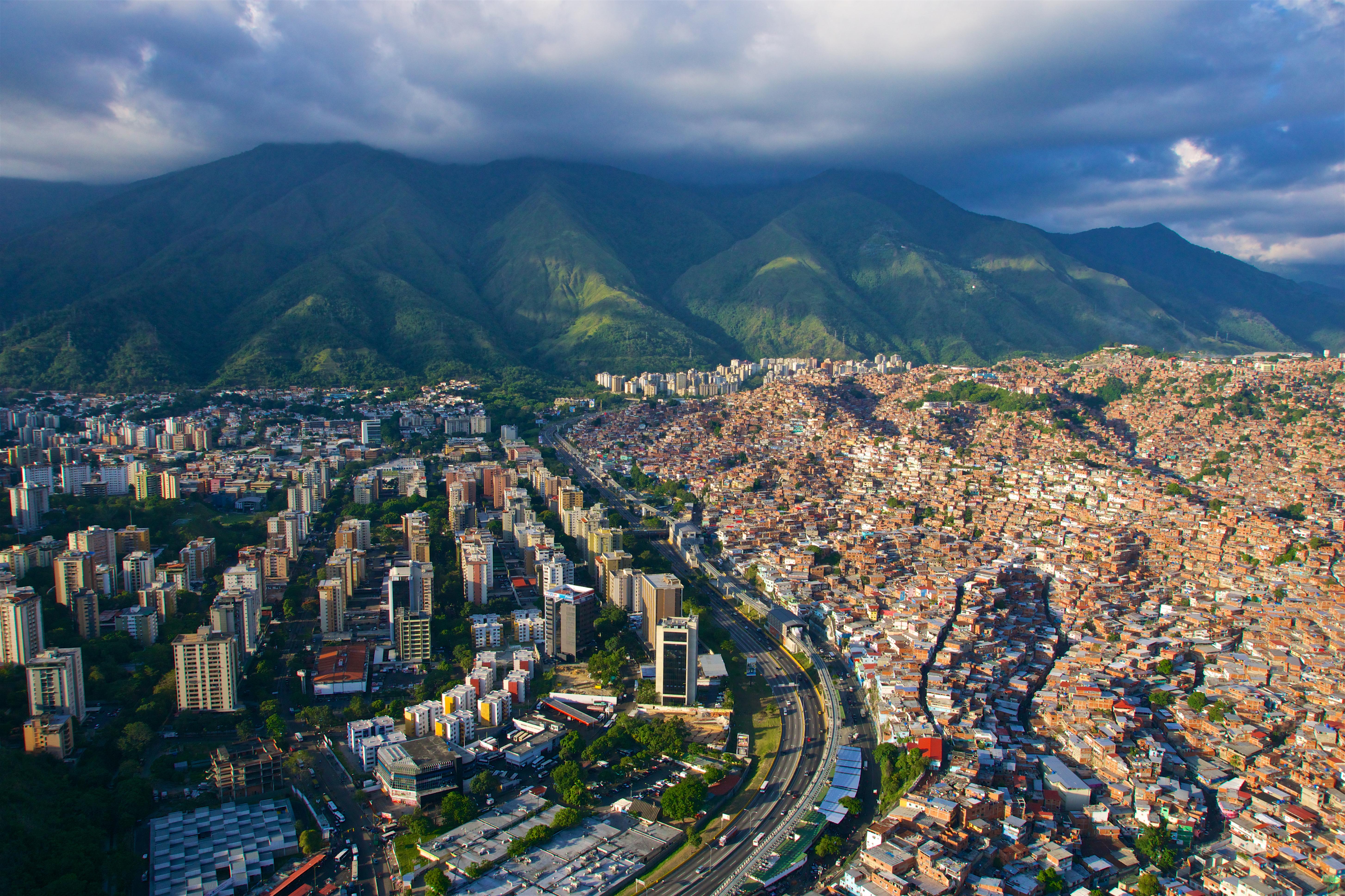 Каракас, столица Венесуэлы, ВНЖ которой могут получить иностранцы