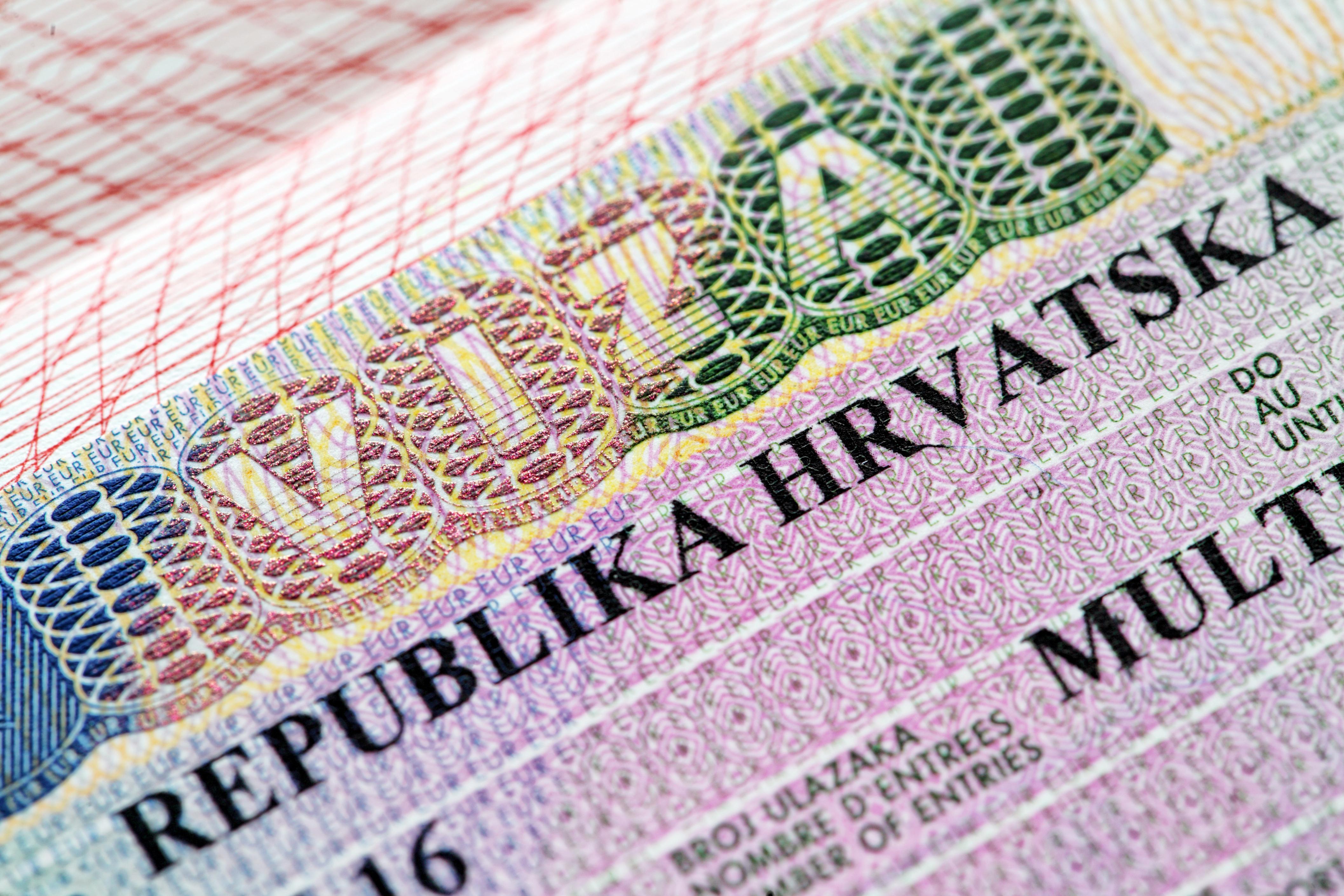 Хорватская виза, которую могут оформить россияне