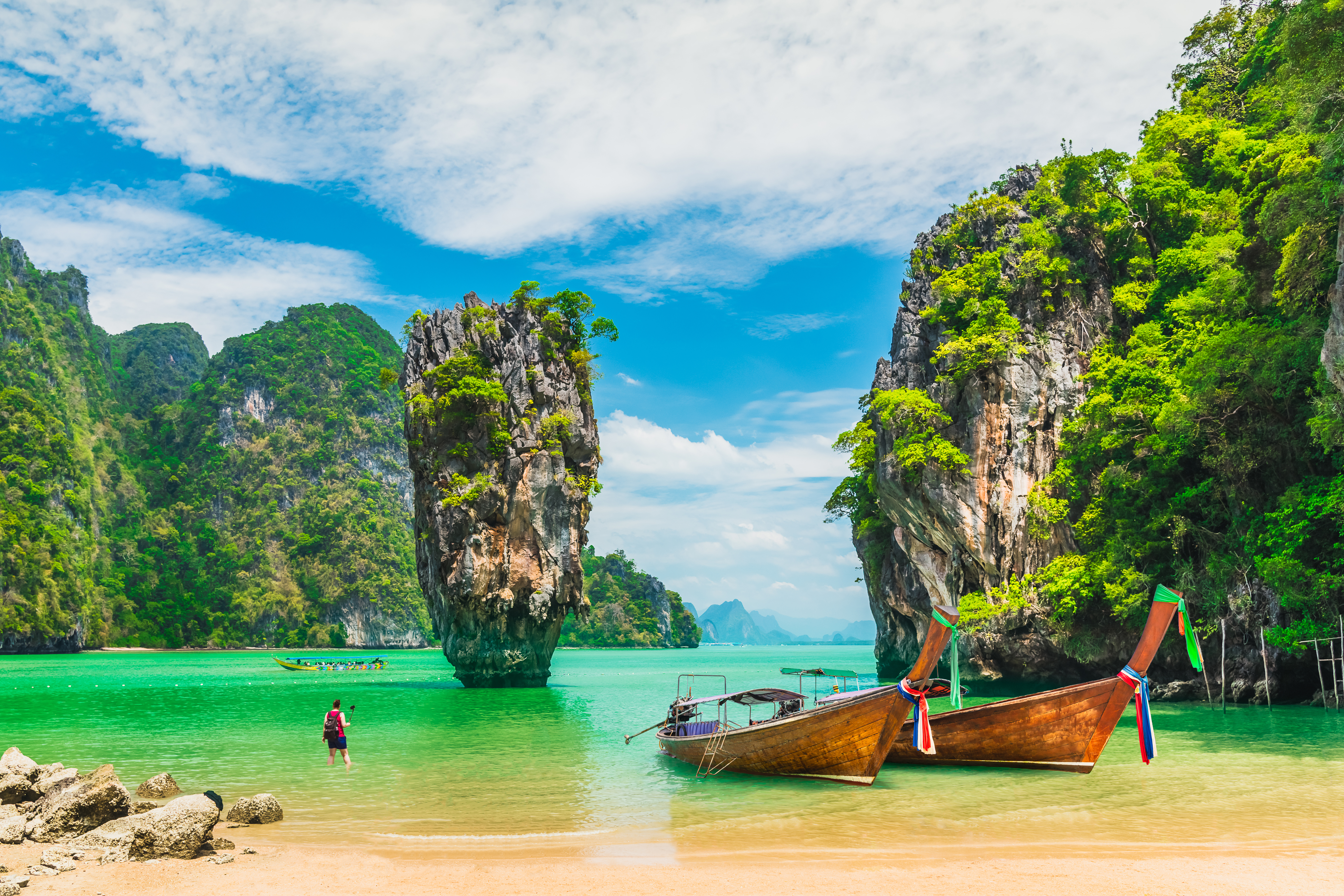 Побережье Таиланда, визу в который могут оформить иностранцы