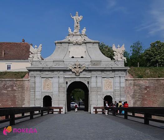 Крепость Алба-Юлия