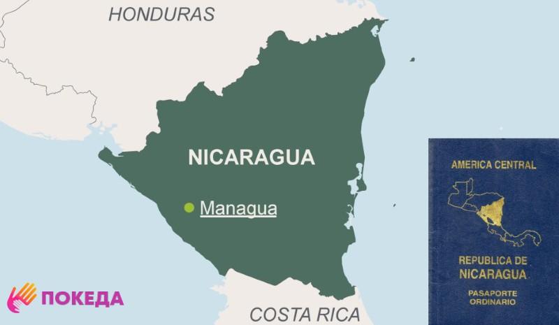 Паспорт Никарагуа