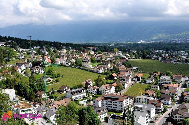 Княжество Лихтенштейн состоит в Шенгенской конвенции