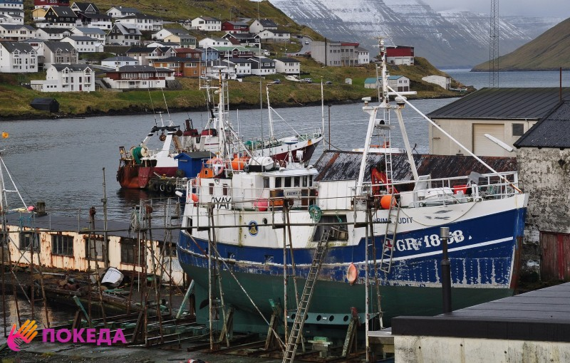 Верфь на Фарерских островах