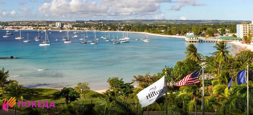 Море в Барбадосе