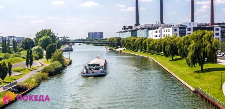 Вольфсбург - речной трамвайчик