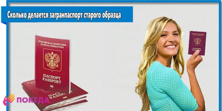 Комплект документов для получения заграничного паспорта старого образца в 2019 году